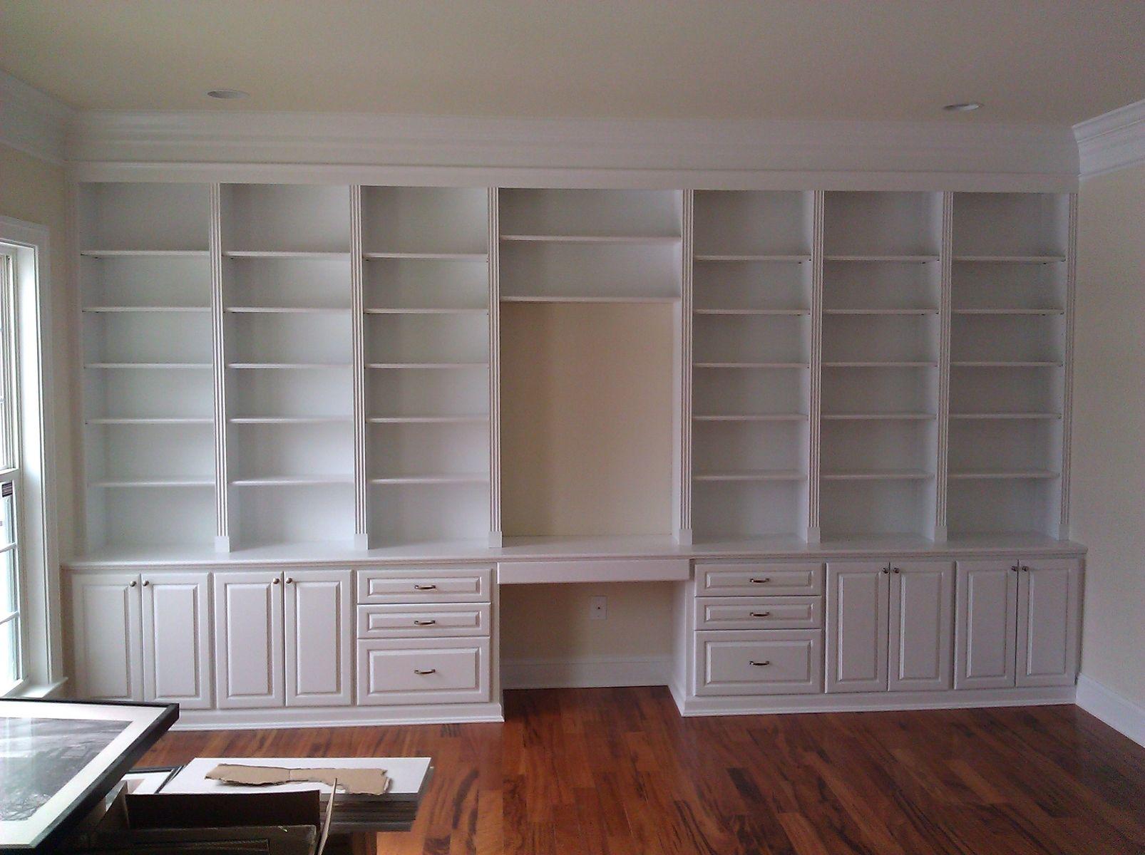 Handmade Built In Home Office By A-K Custom Interiors