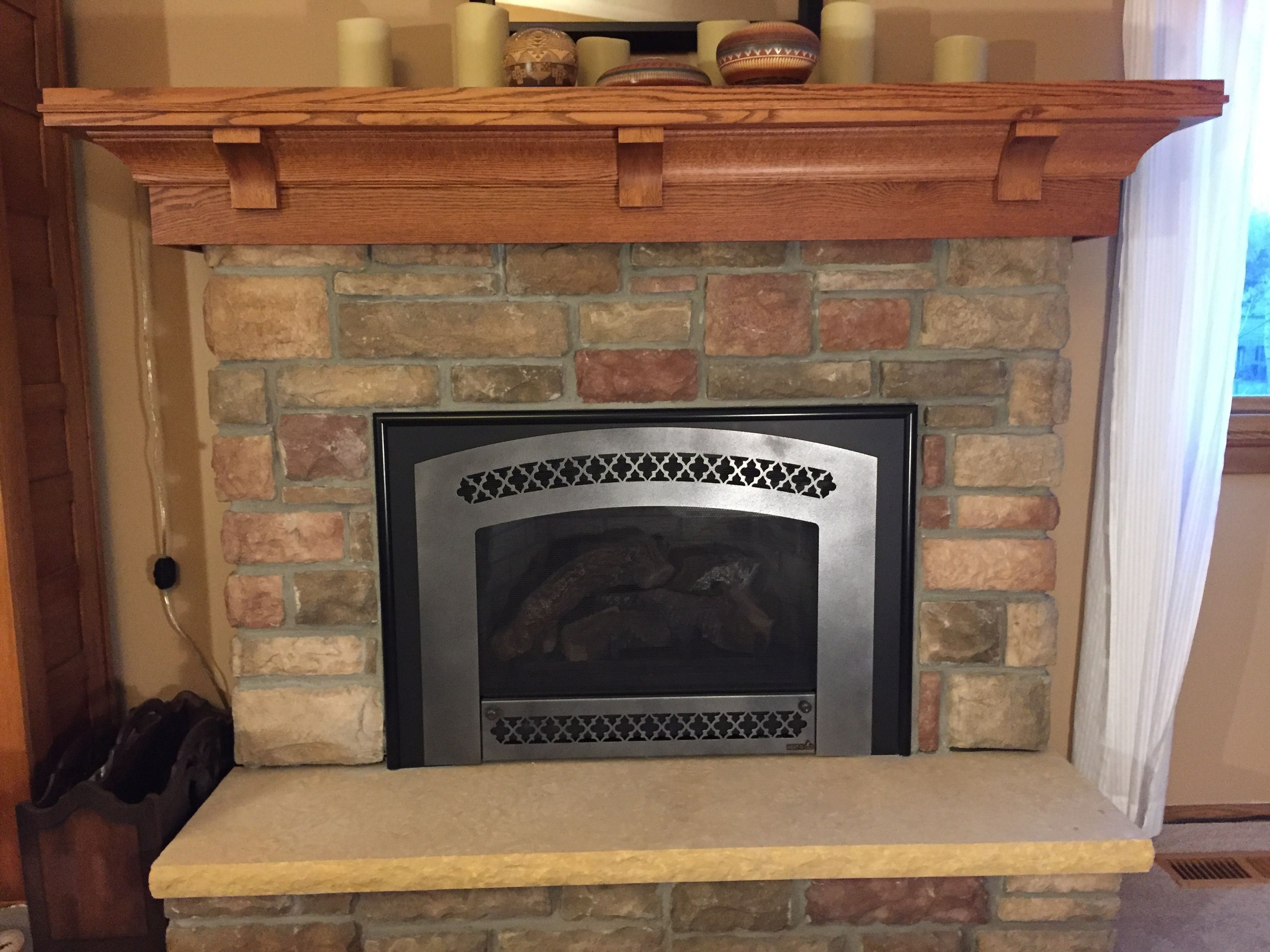 Arts And Crafts Style Fireplace Mantel
