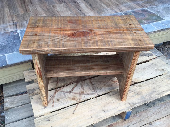 Hand Made Barn Wood Bench By Studio113