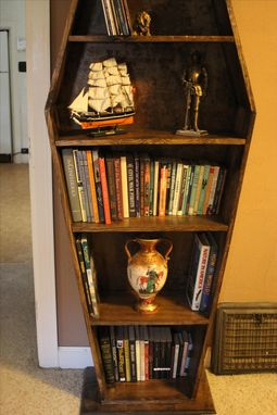 Buy A Hand Made Coffin Bookcase Made To Order From