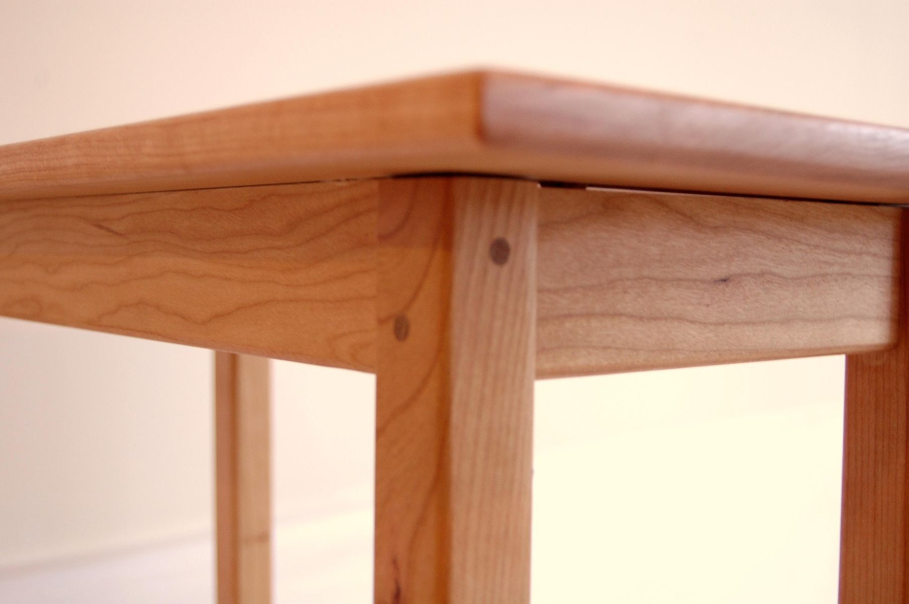 Buy A Handmade Long Cherry Shaker Style Side Table With