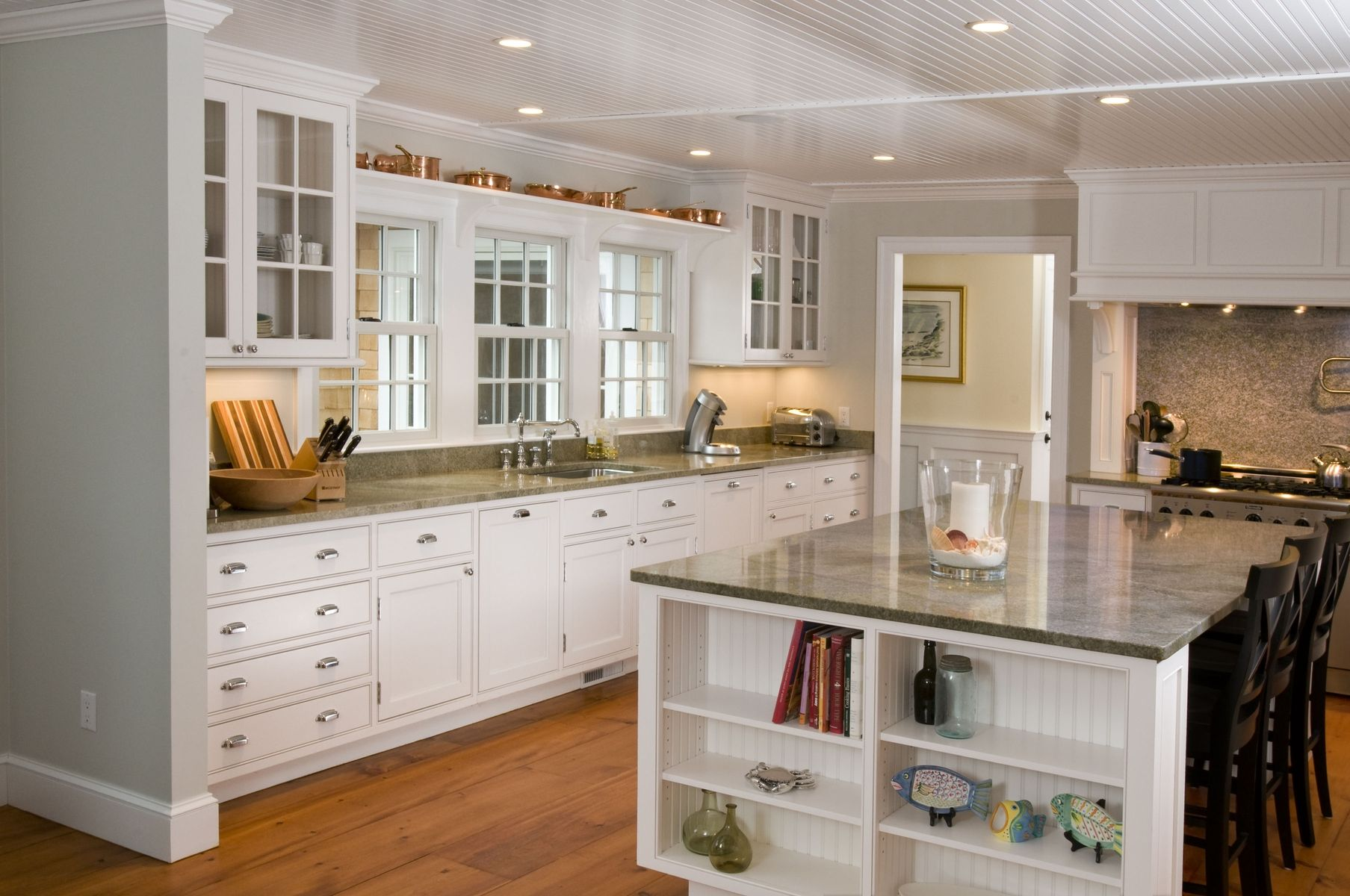 Hand Crafted White Cape Kitchen By Michael Humphries