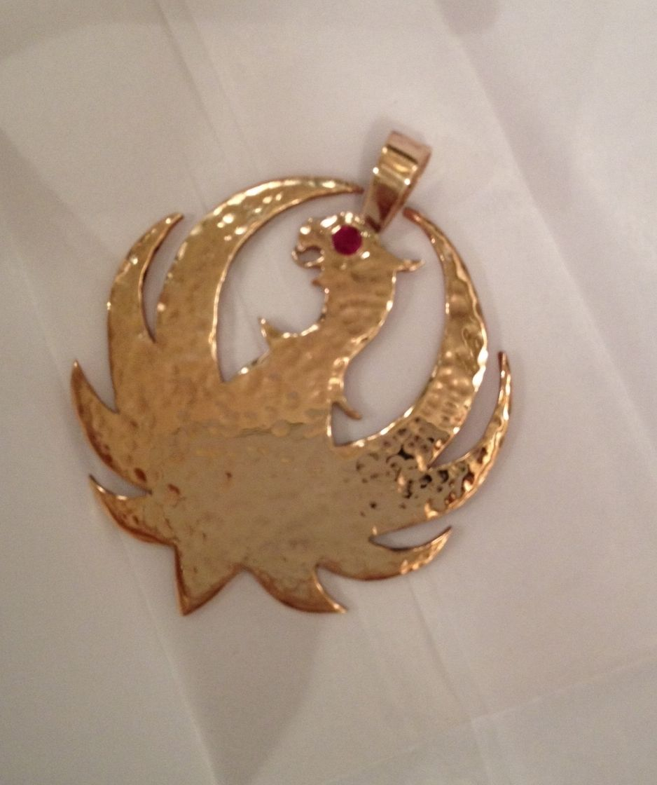 Hand Crafted Davids Hank Williams Jr Ruger Pendant By