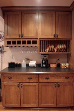 Custom Quarter Sawn Oak Kitchen By Peabody Enterprises