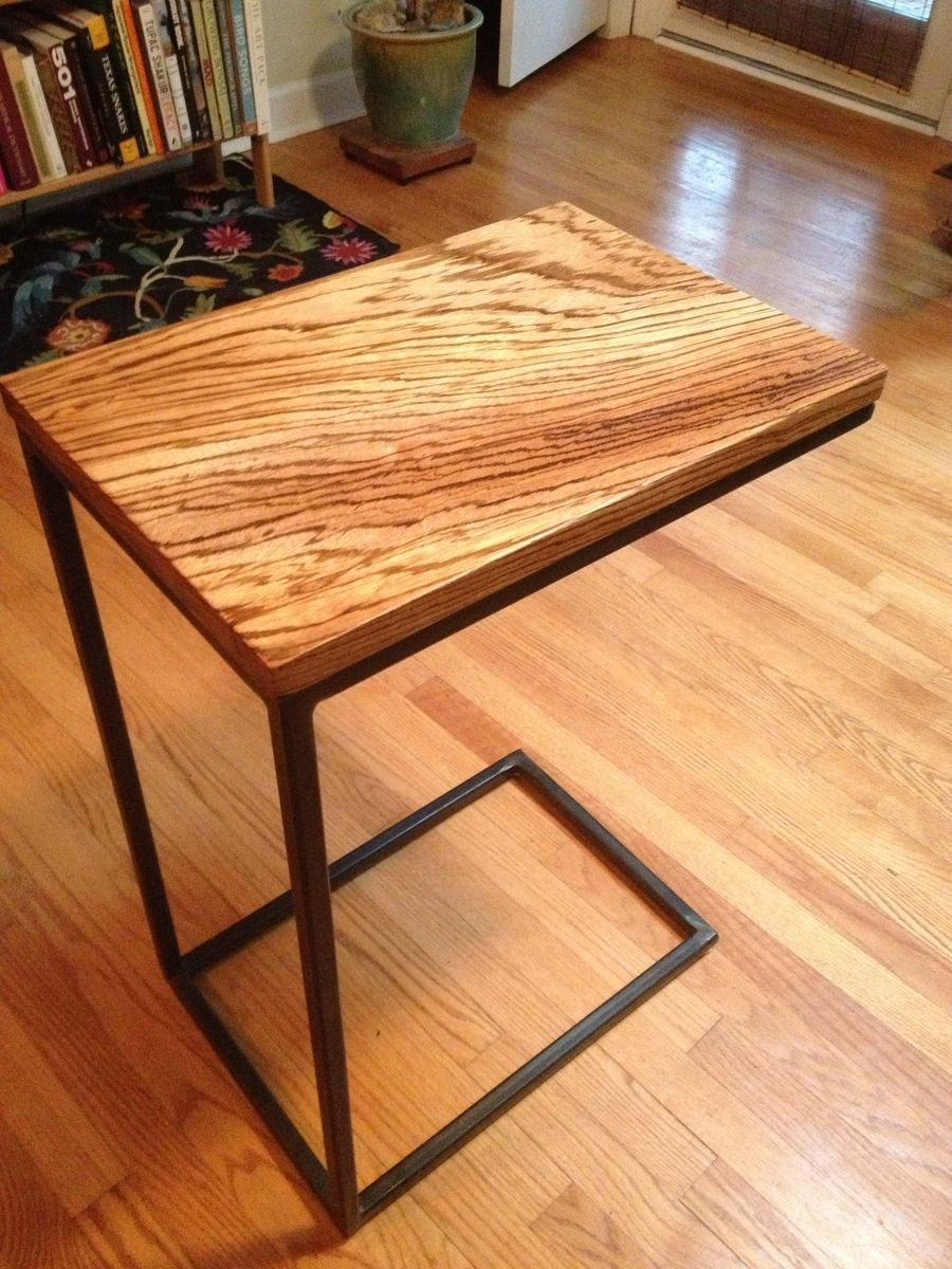 Buy A Hand Made Zebrawood C Table Made To Order From Five