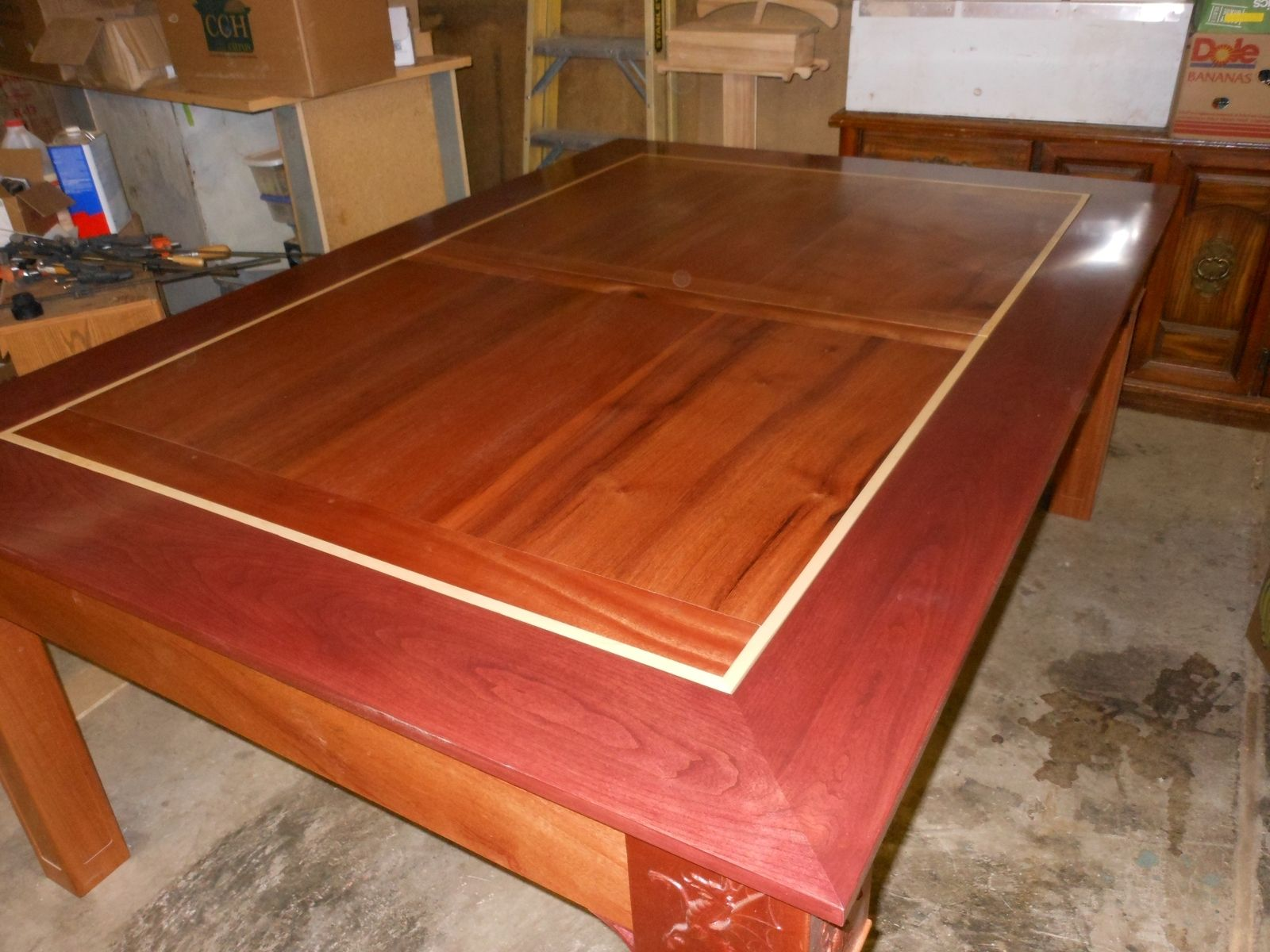 Custom Wood DiningGaming Table By Concepts N Creations