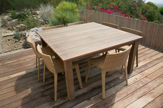 ipe deck table by house of hardwood