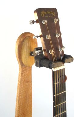 Handmade Custom Wood Guitar Stand By Reed S Woodshop