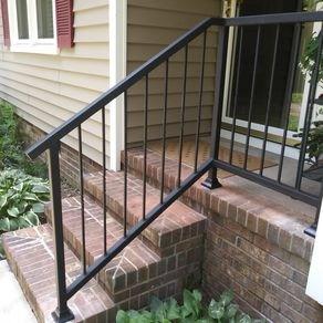 Custom Railings And Handrails Custommade Com   Handrail Companies Near Me   Metal   Glass Handrail   Staircase   Deck Railing   Stair Treads