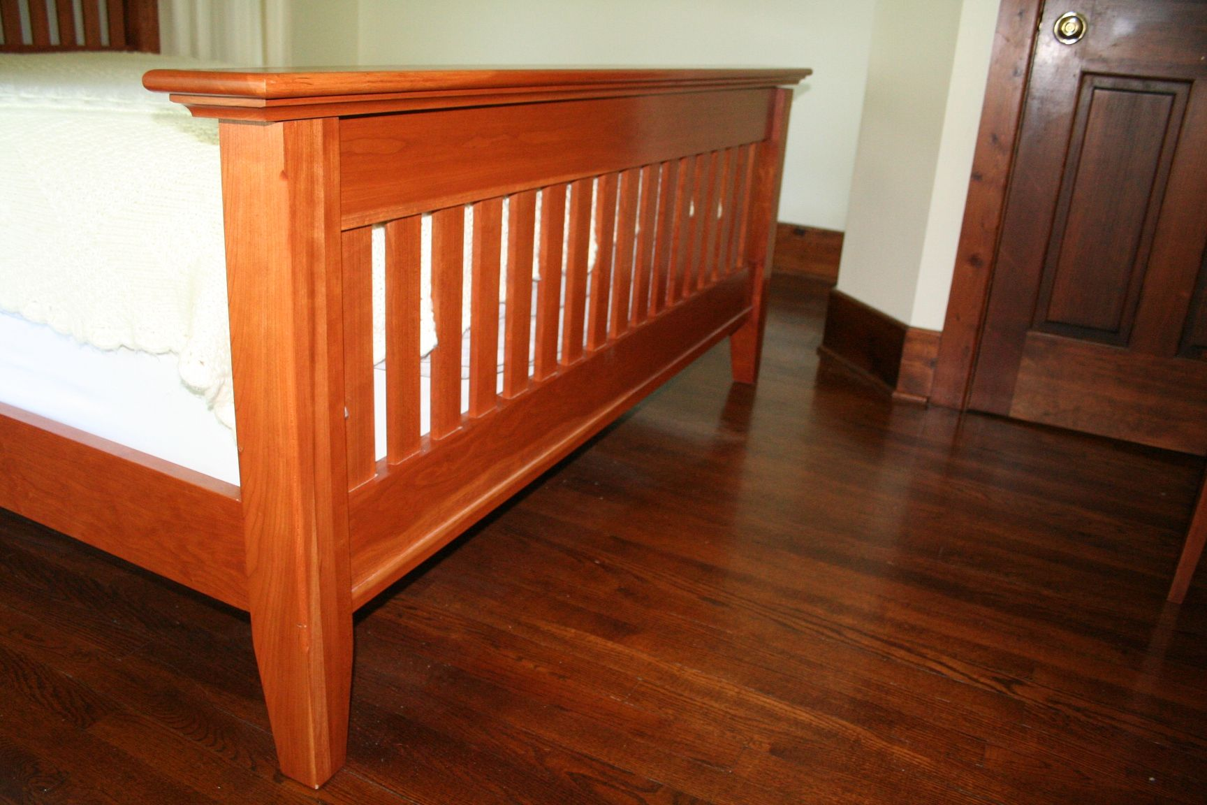 Custom Mission Shaker Style Bed By Wooden Goose