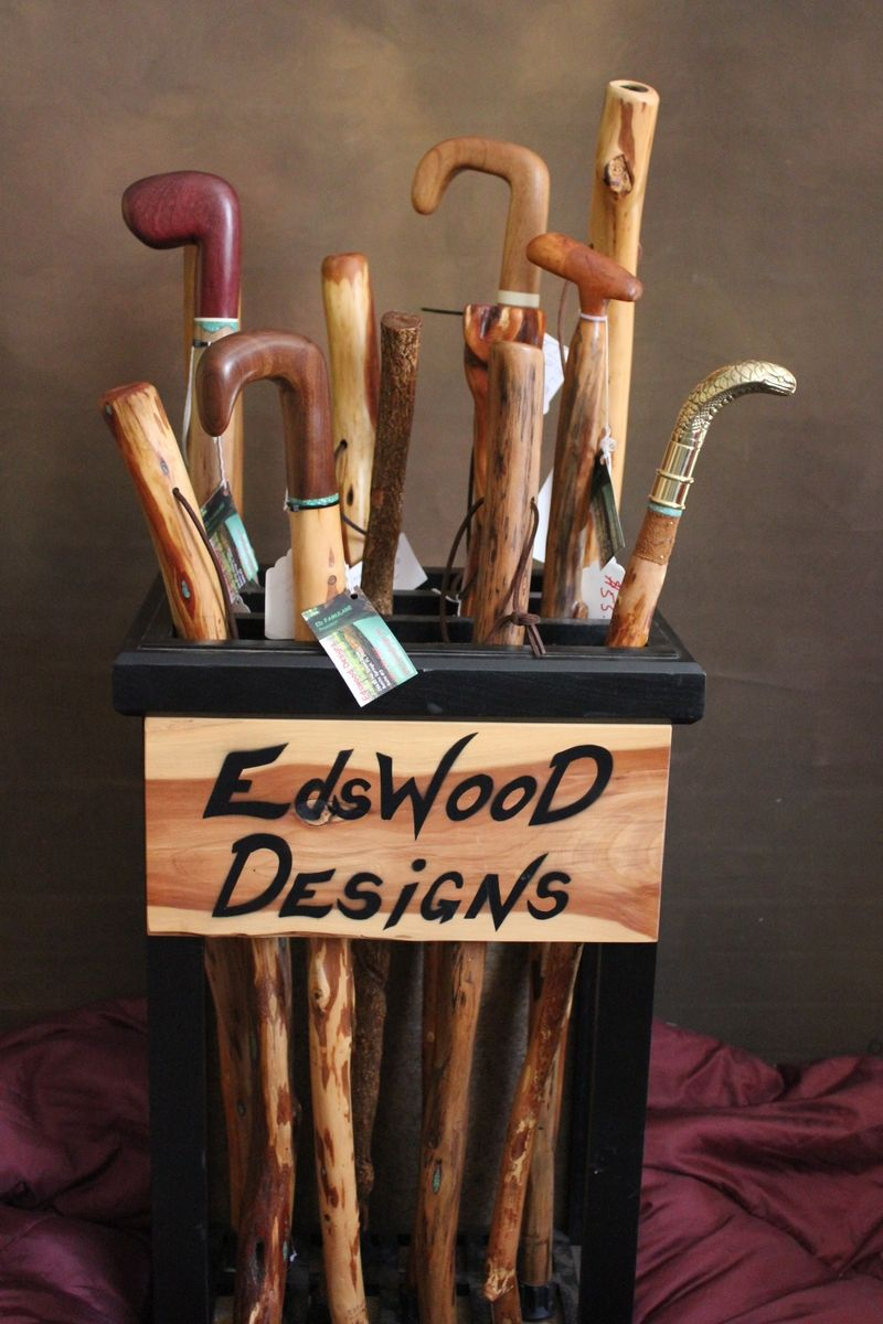 Custom Canes And Walking Sticks By Edswood Designs
