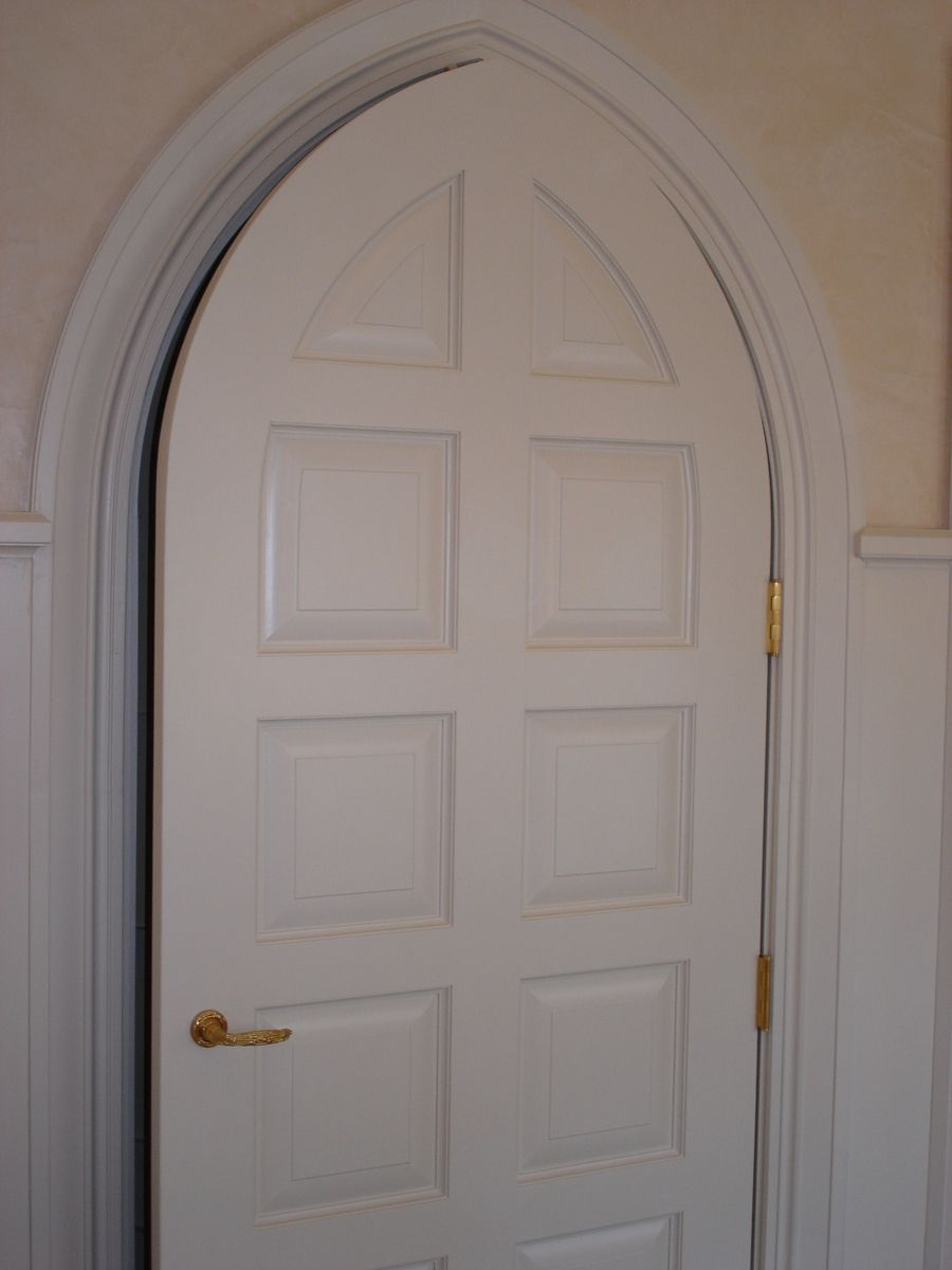 Hand Made Gothic Style Door By Pegg Whitney Woodworks Llc