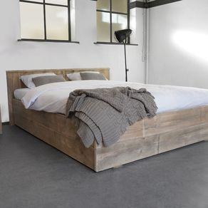 Custom Made Pinewood Bed Iowa