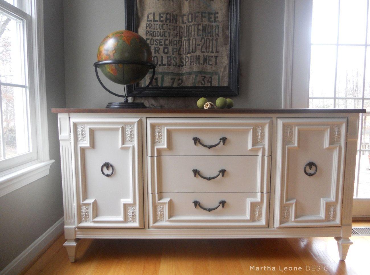 Custom Made Sample Mid Century Buffet Dresser By Martha Leone Design