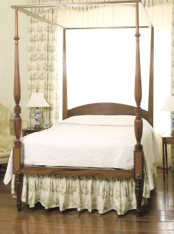 Hand Crafted Federal Style Four Poster Bed By Cornerstone Creations Llc