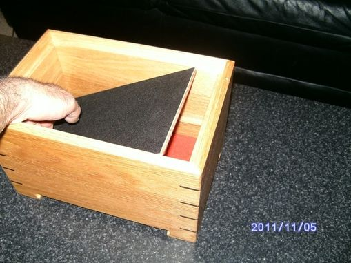 Handmade Keepsake Box With Secret Compartment By Nu
