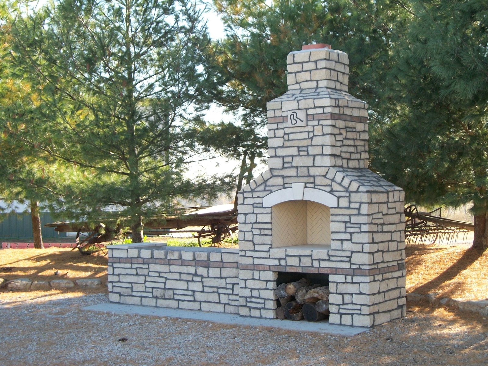 Custom Made Big River Ranch B B Q And Oven By Stone Creek
