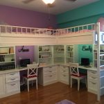 Custom Dual Loft Beds With Desks By Carolina Wood Designs Custommade Com
