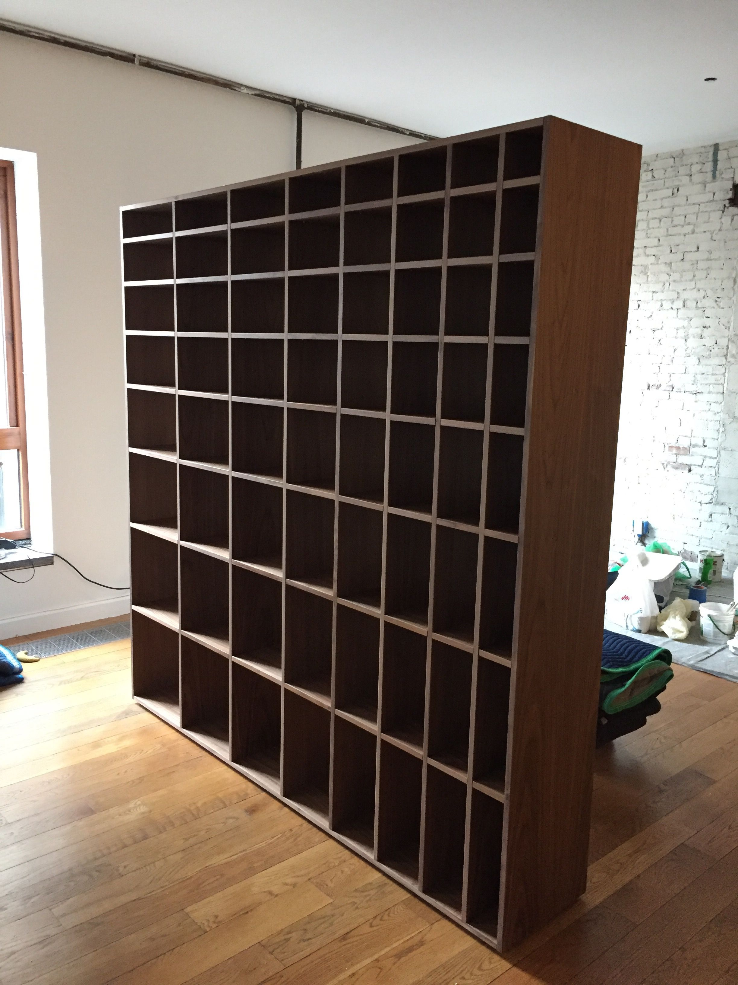 Custom Bookcase Room Divider By Ezequiel Rotstain Design