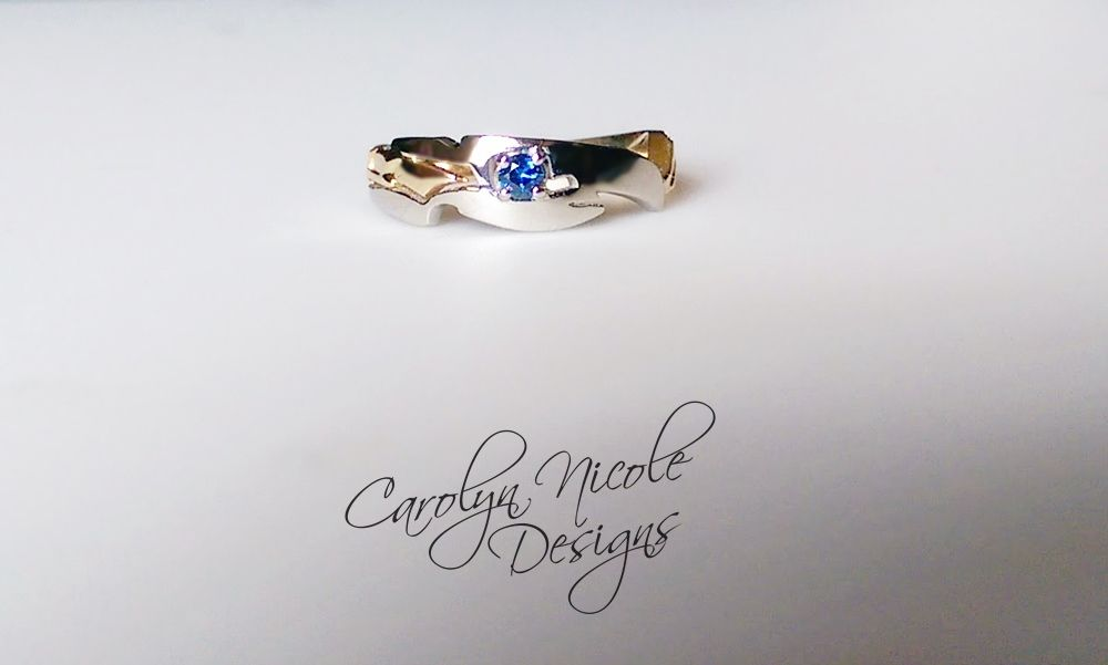 Hand Made Sceptor Engagement Ring By Carolyn Nicole