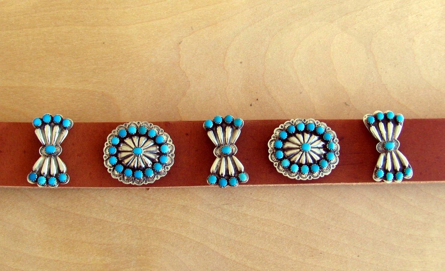 Hand Crafted Vintage Authentic Native American Turquoise