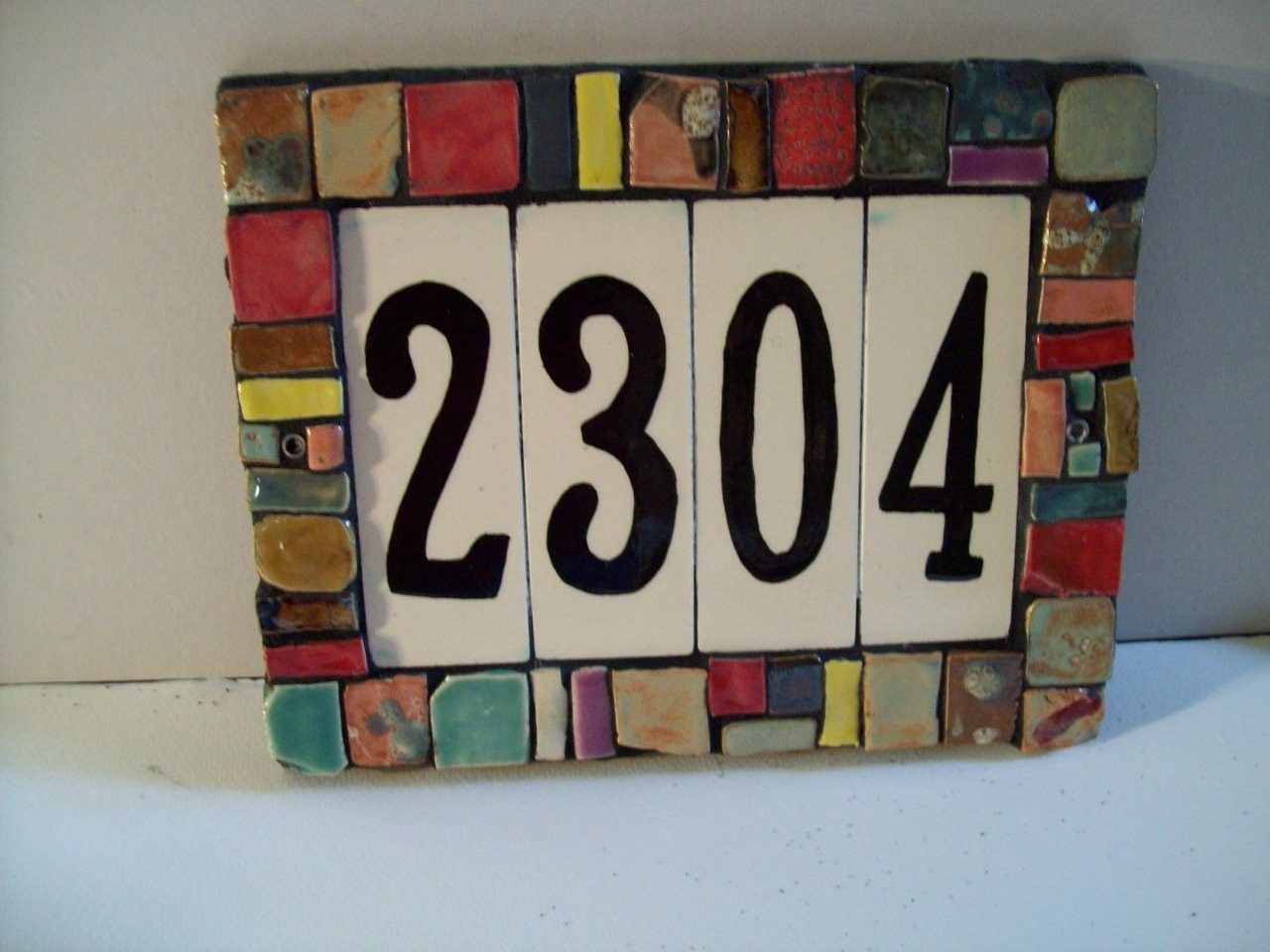 ceramic house address numbers house