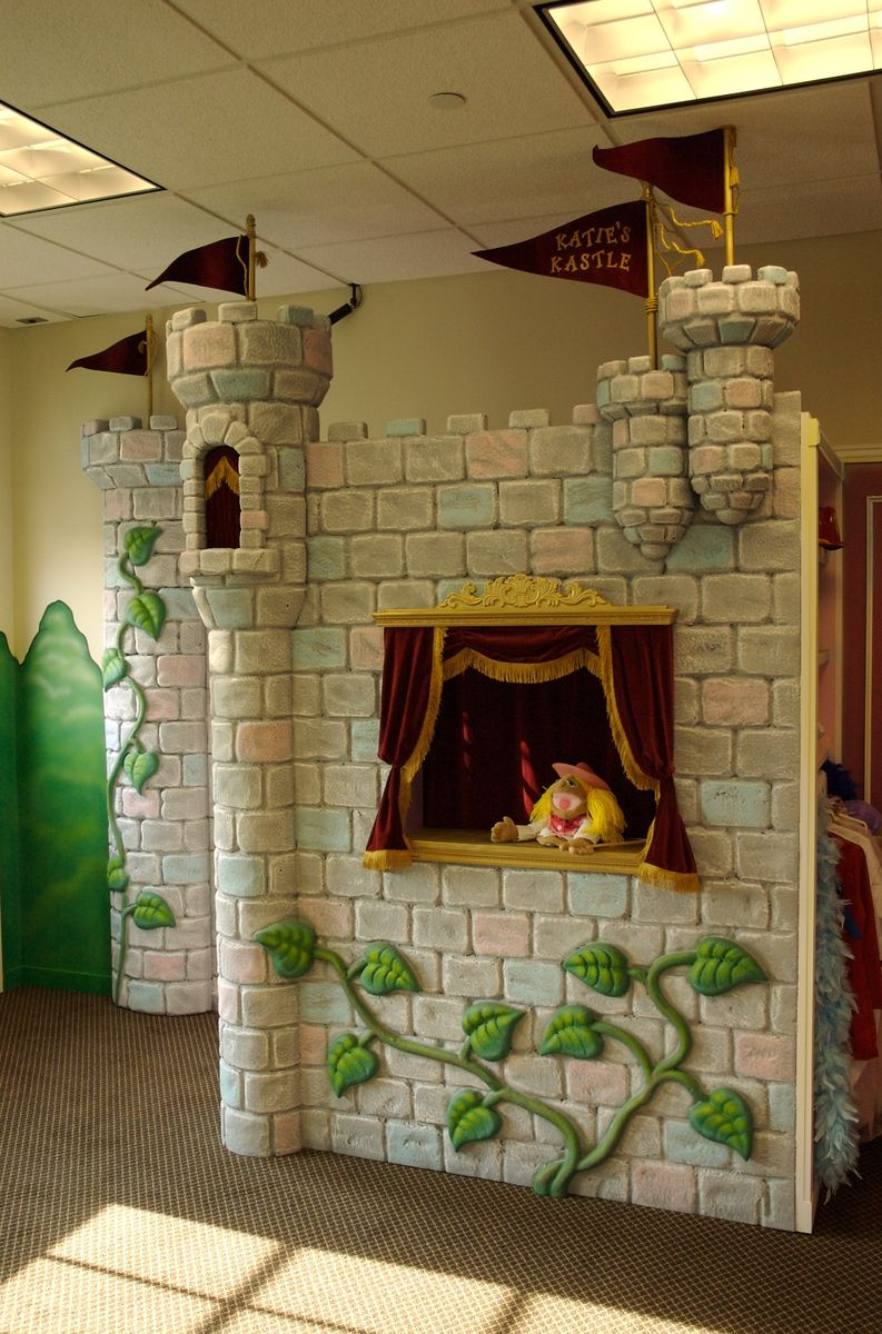 Custom Kids Play Castle By Working Designs And
