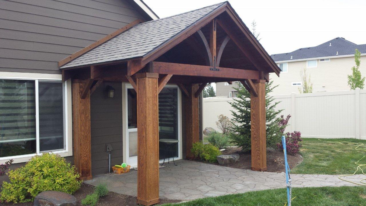 custom cedar craftsman patio cover kit