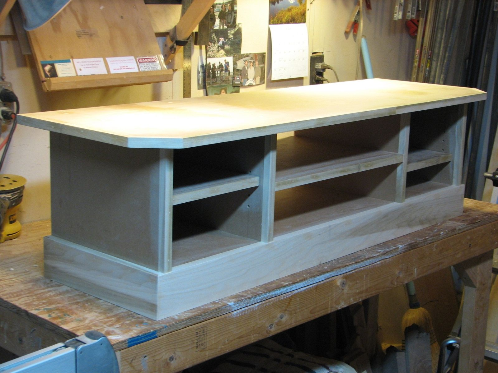 Custom Made TV Stand By Ben Whitbeck Woodworking