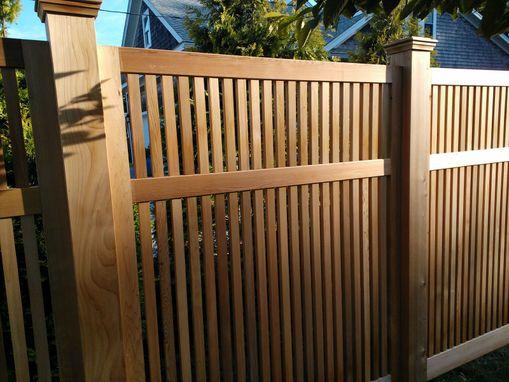 Custom Red Cedar Fence Panels By TradeCraft Custom