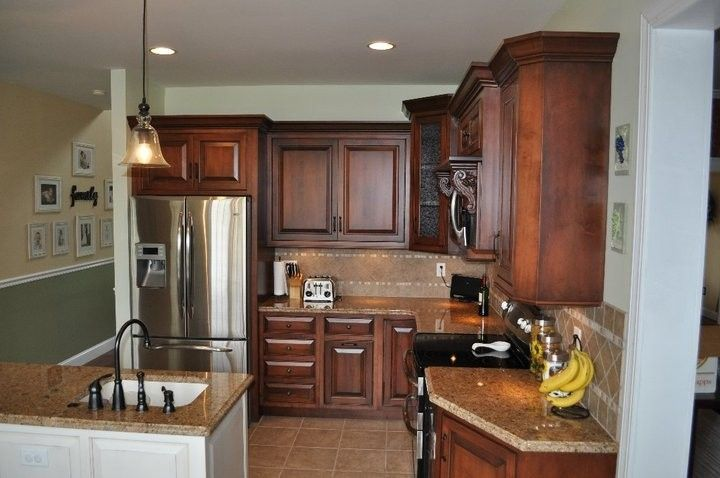 Custom Made Old English Style Kitchen By London Grove