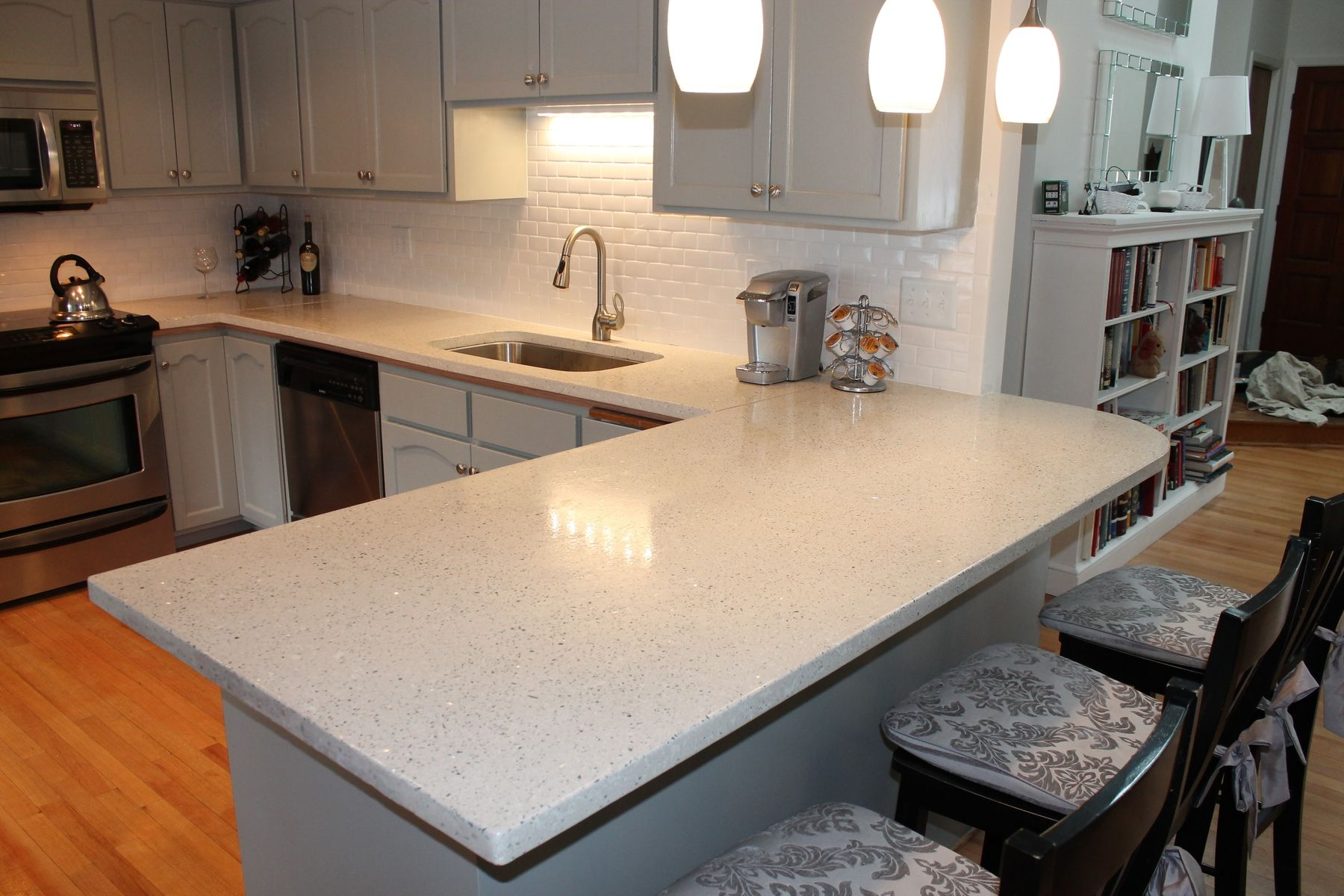 Handmade Hand Made Concrete Countertop By The Concrete