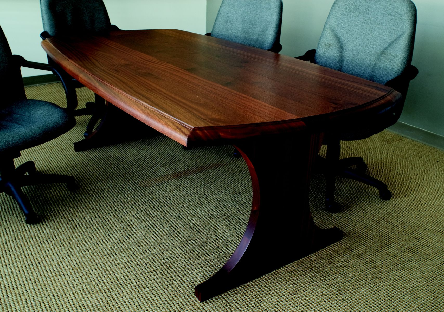 Custom Small Conference Table By Craft Art Direct