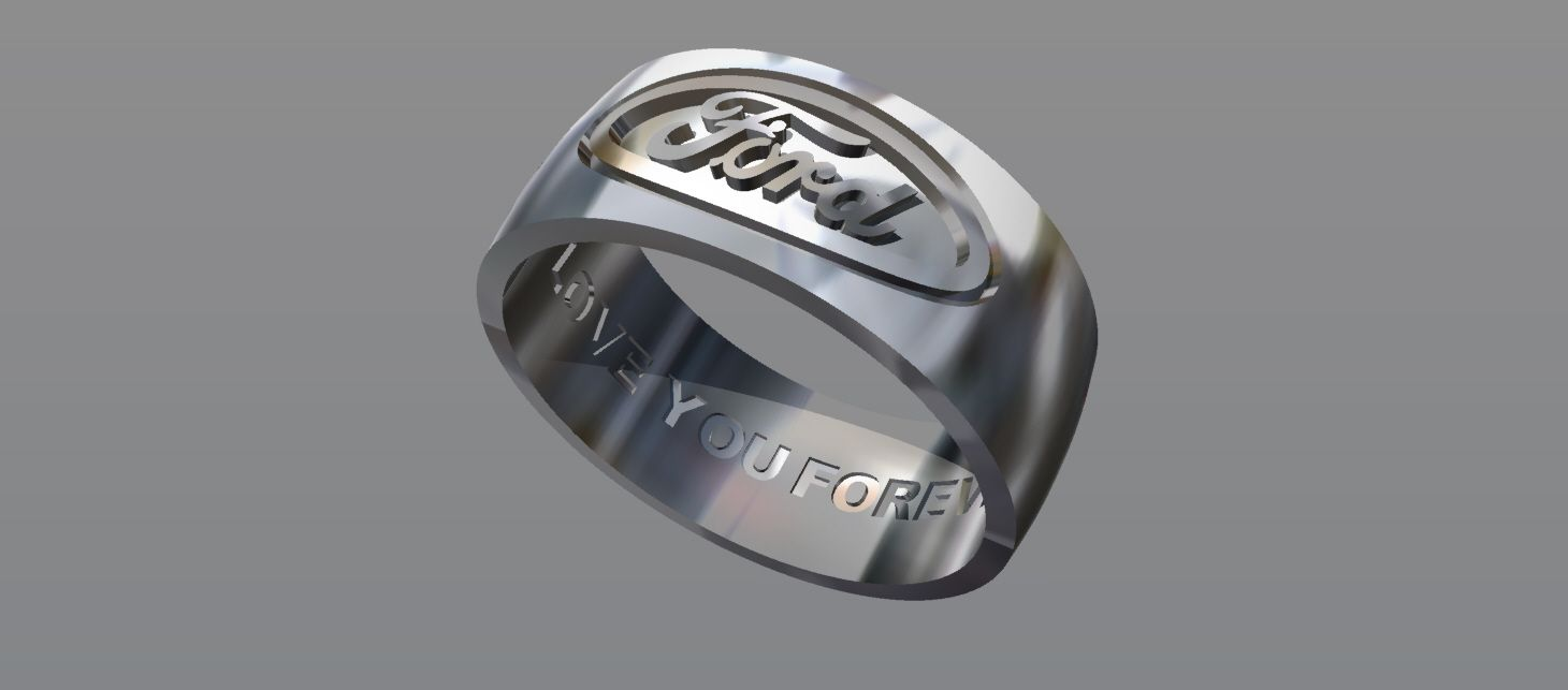 Buy A Hand Crafted Ford Ring Custom Wedding Band Made To