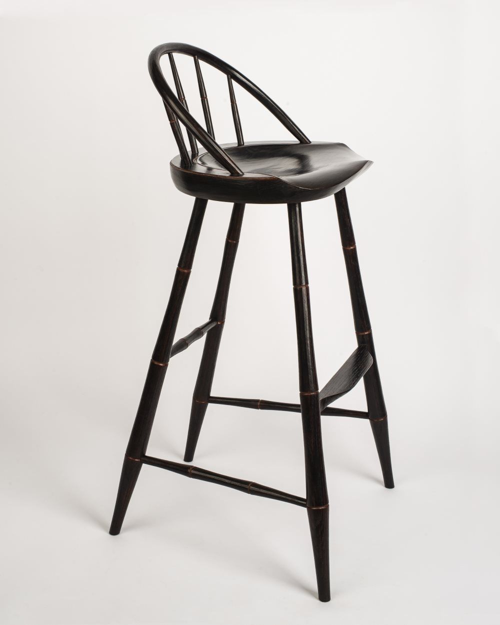 Buy A Hand Made Russells Windsor Bar Stool Made To Order