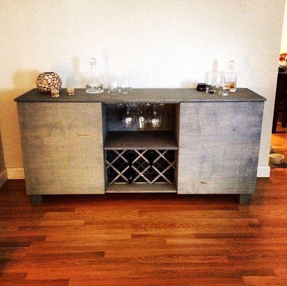 Buy A Custom Made Rustic Wine Bar Rustic Liquor Bar