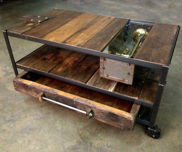 Rustic Wood And Metal Furniture