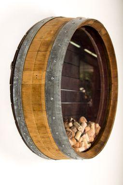 Buy A Custom Made Kala Wine Barrel Cork Holder Made To