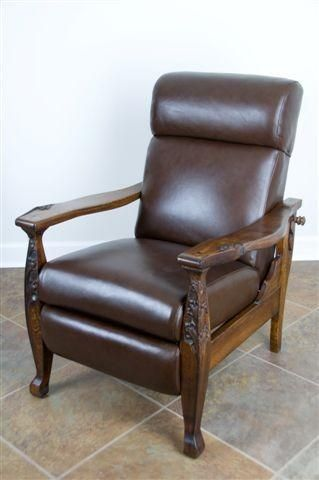 Hand Made Beautiful Antique Morris Chair Reproduction By Virginia Mountain Woodworks Llc