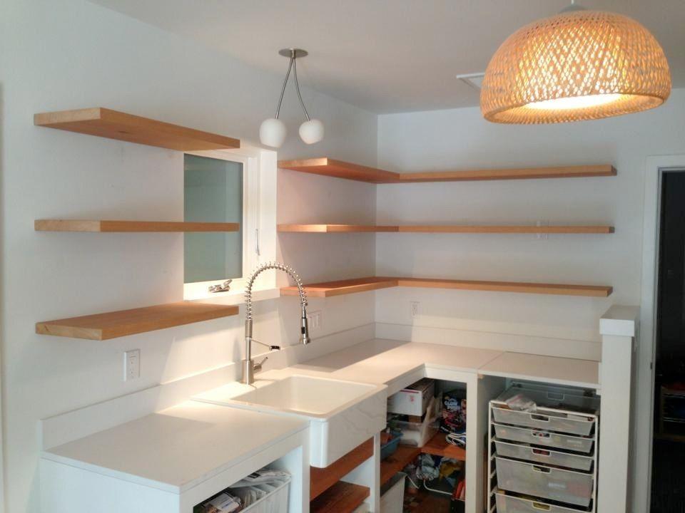 Handmade Bracketless Shelves By SpenchCraft