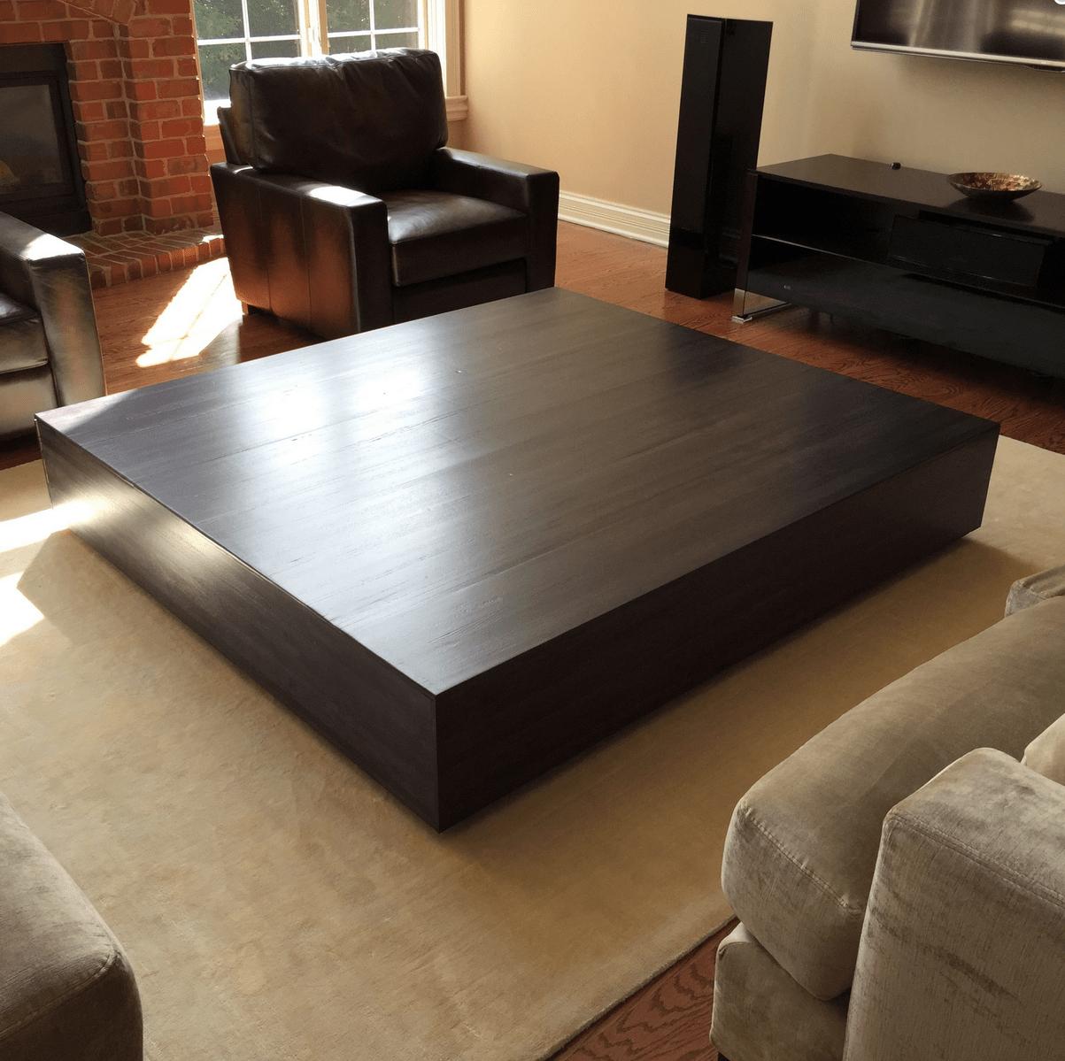 ultra modern large coffee table