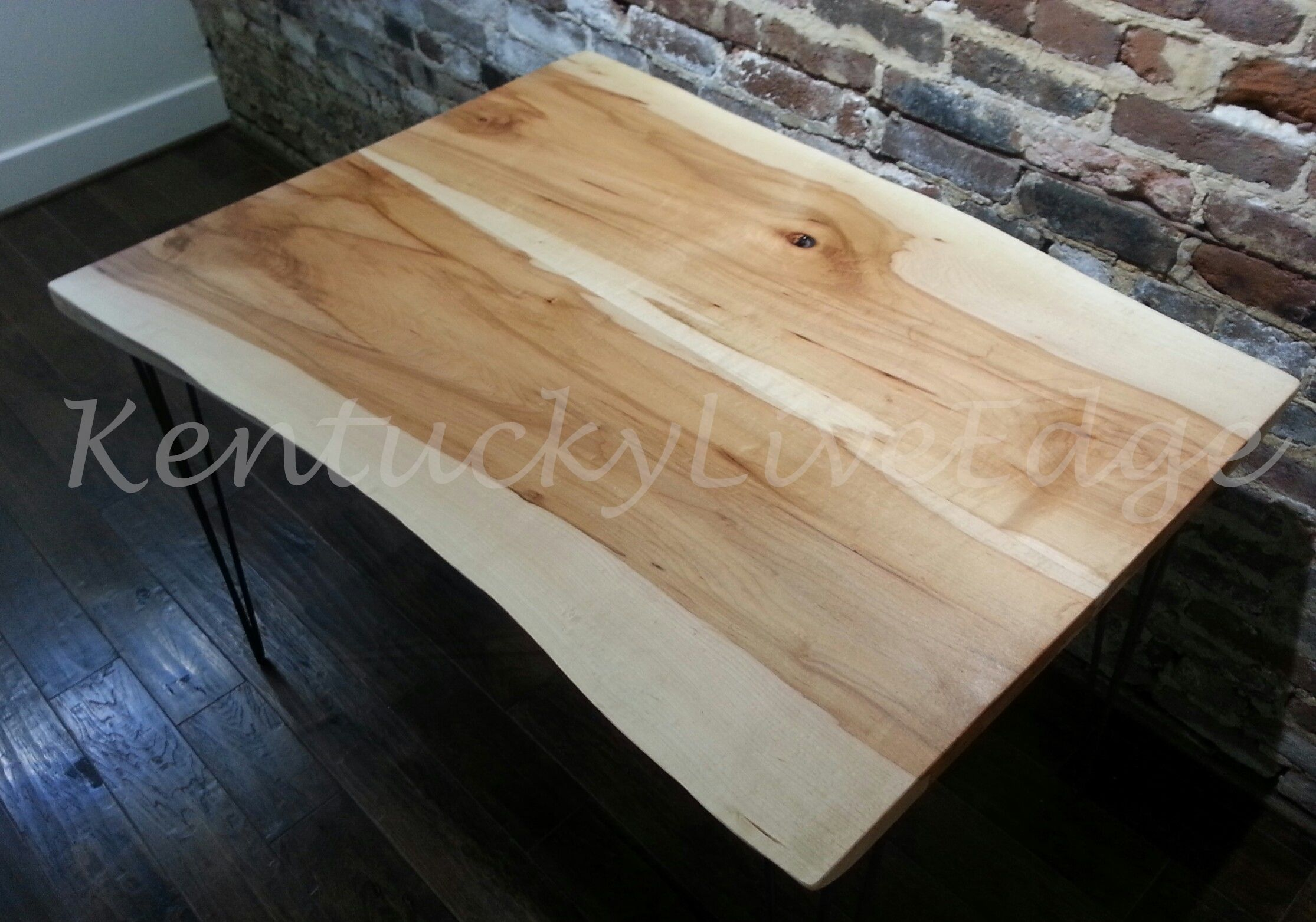 Hand Made Live Edge Dining Table Kitchen Table Breakfast