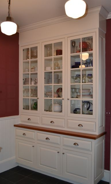Custom Period Butler S Pantry By Salem Architectural