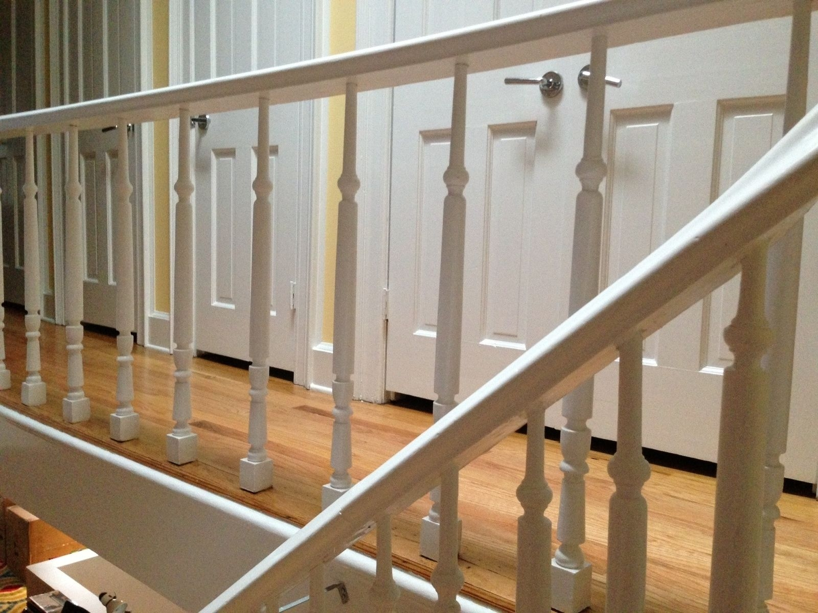 Custom Made Staircase Baluster Repair Replacement By Alan Dorsey | Replacement Wood Stair Balusters | Cheap | Horizontal | Hallway | Split Entry | Cast Iron