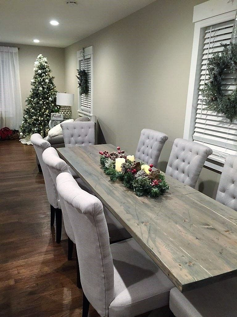 Custom Made Rustic Farmhouse Dining Tables By Jer S Rustic Creations Custommade Com