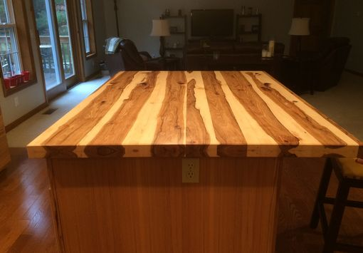 Handmade Solid Hickory Bar Top Island Top By Glessboards