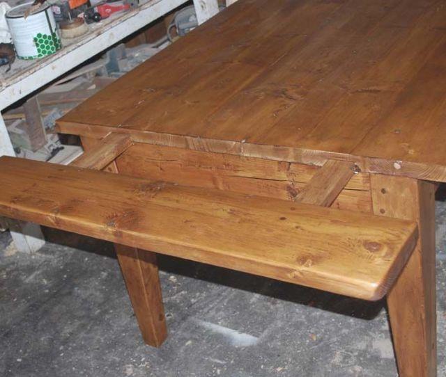 Custom Made Expandable Farmhouse Table