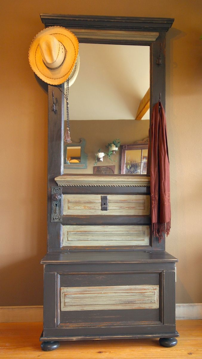 Hand Made Lauras Hall Tree By Country Woods Designs
