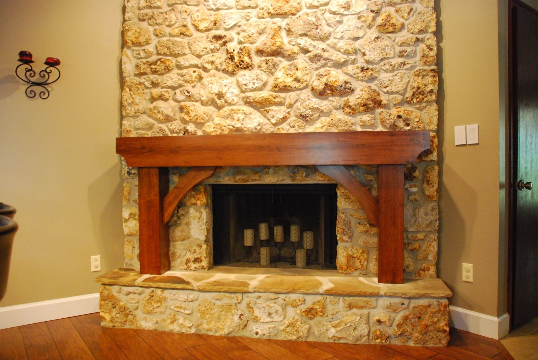 Custom Fireplace Mantel By Lake Mary Woodworking