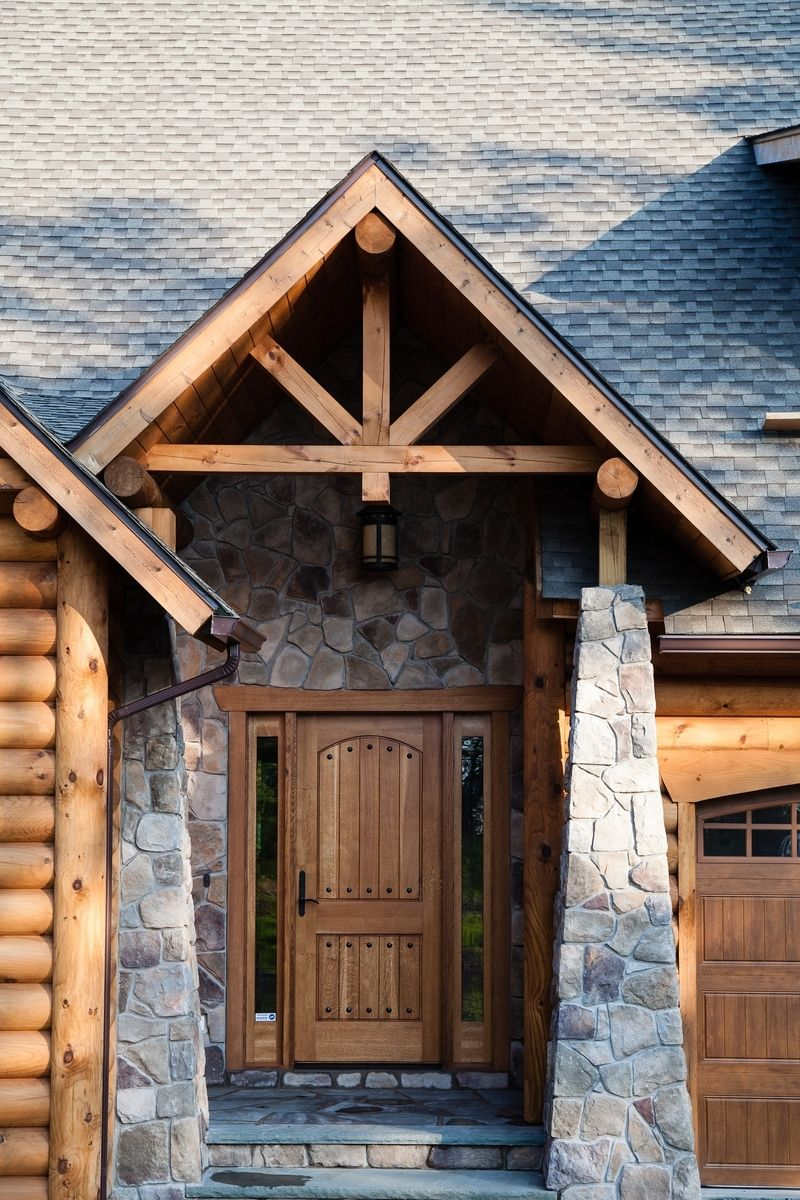 Custom Made Rustic Country Entry Door By Gerspach Handcrafted Woodworks Llc